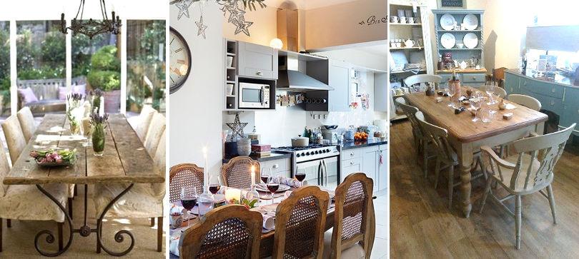 Столы и стулья для кухни Прованс