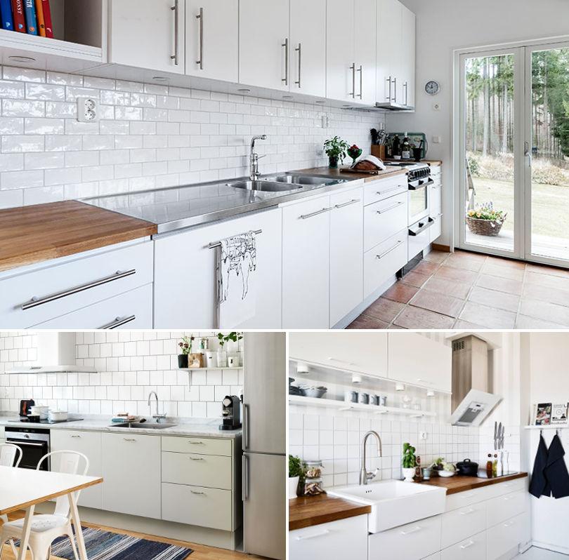 Мойка на кухни в стиле Скандинавии