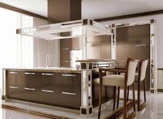 Современный взгляд на стиль арт-деко в интерьере кухни