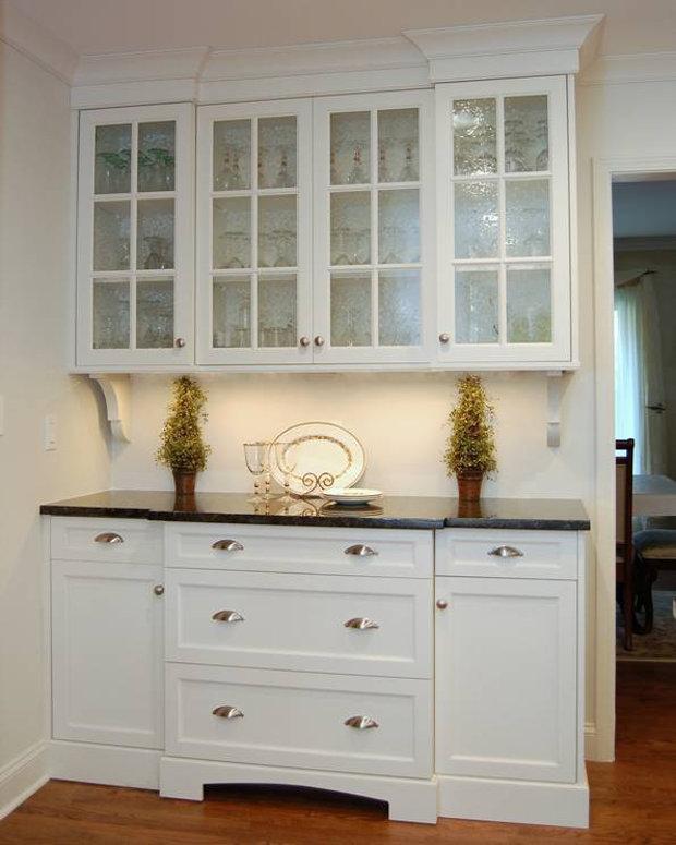 Белый буфет для кухни