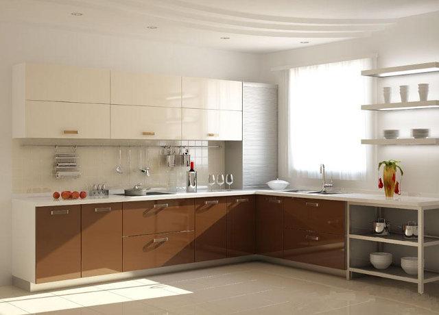Фасады для кухни стандартных размеров всегда обходятся дешевле нестандартных вариантов