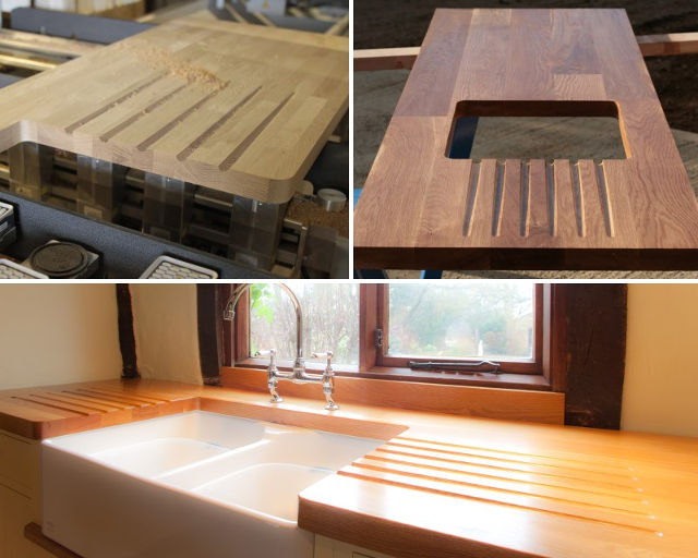 Процесс изготовления столешницы из дерева на заказ